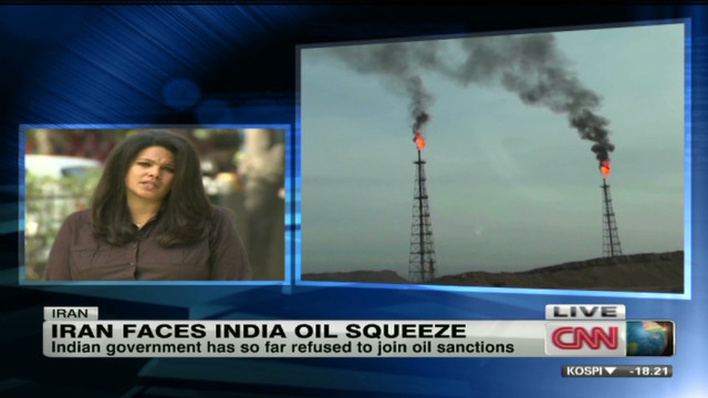 Iran faces India oil squeeze