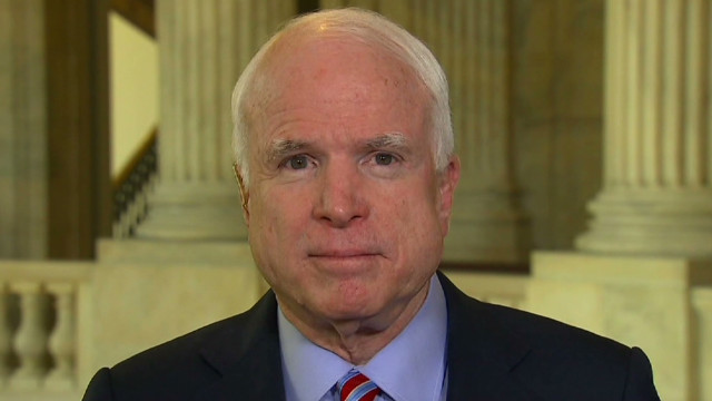 McCain: Takedown would be blow to Iran