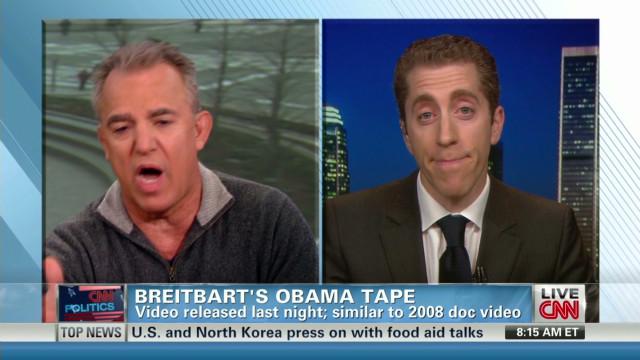 Racial motive behind Breitbart tape?