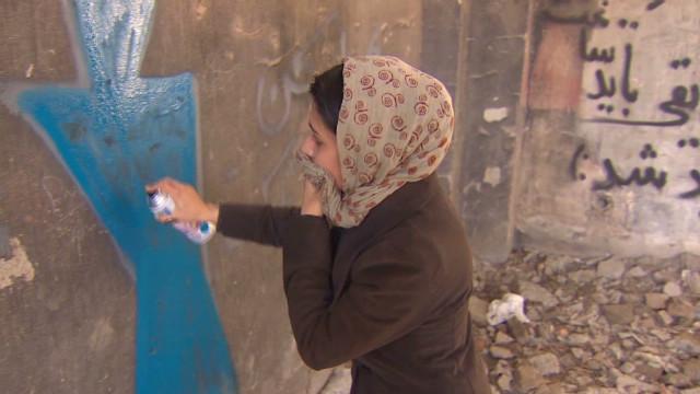 Afghanistan's graffiti feminism