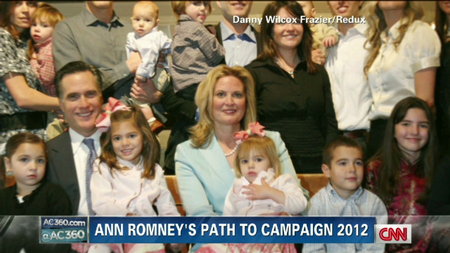 Ann Romney's role in the campaign