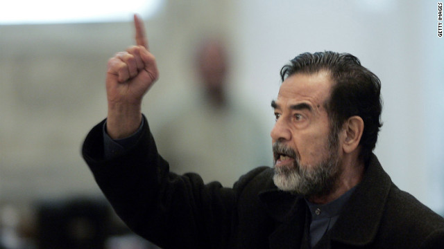 La captura de Saddam Hussein, 2003