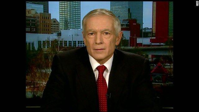 Wesley Clark's reaction to photos