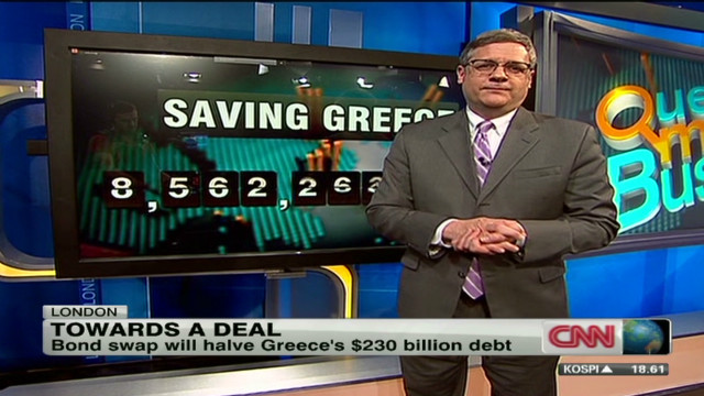 Greek bond swap for new debt?