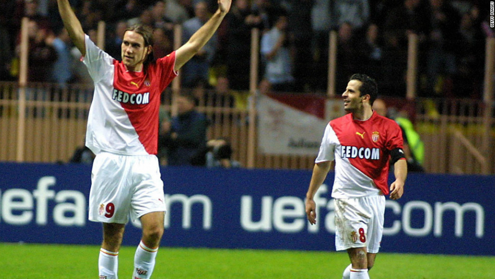 Dado Prso grabbed four goals for Monaco in what became the highest-scoring match in Champions League history. The Croat helped the team from the principality to an 8-3 win over Spain's Deportivo la Coruna in 2003.