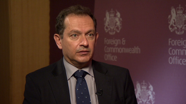 UK amb to Syria: No future with Assad