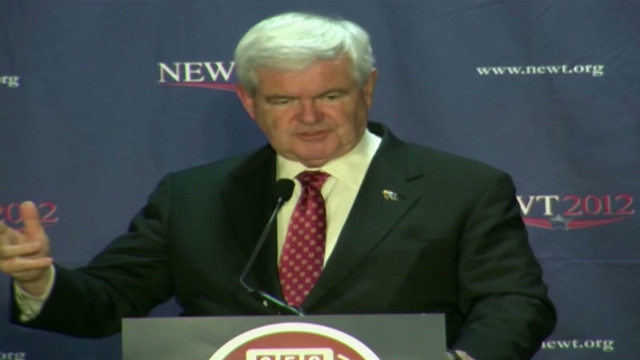 """For those of you who don't know about Twitter, you send out tweets to 'tweeples,'"" Gingrich joked in Tupelo, Mississippi."