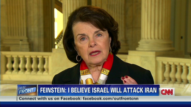 exp Feinstein on Iran: 'Israel will attack'_00011224