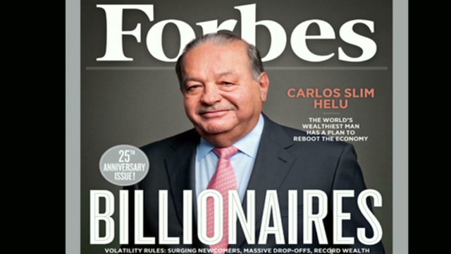 Forbes releases world's richest list