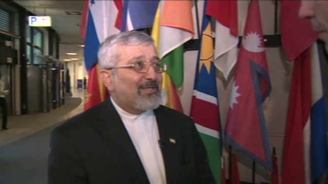 Iran envoy reacts to sanctions