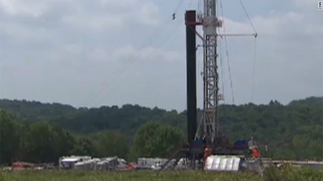 2010: Water contaminated by 'fracking'?