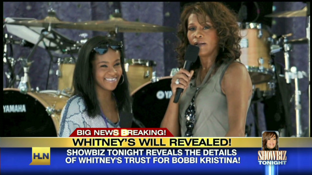 Whitney Houston's will revealed