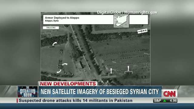New satellite images from Syria