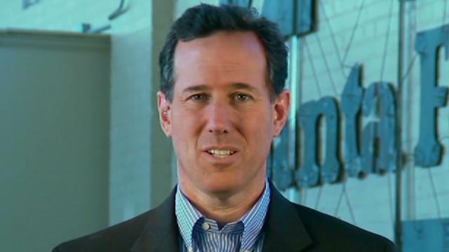 Santorum: Economic recovery 'anemic'