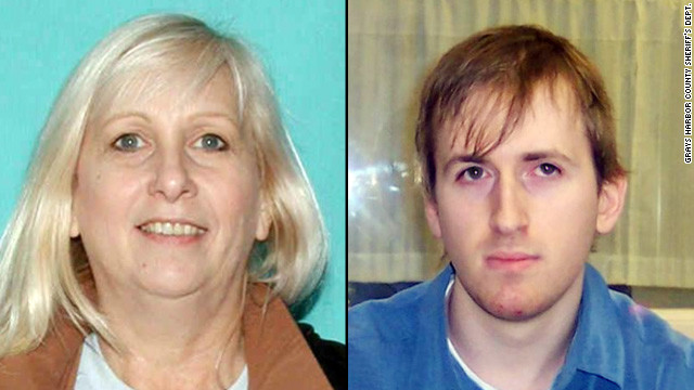 Police said Roberta Dougherty told authorities where they could find her son.