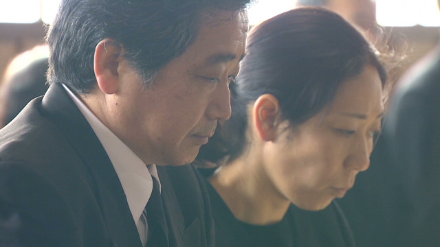 Belated tsunami victim's funeral