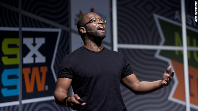 "Baratunde Thurston, editor at The Onion and author of ""How to Be Black,"" speaks at South by Southwest Interactive."