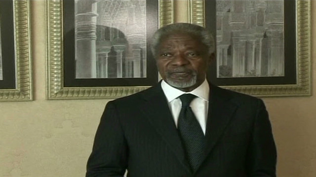 Annan talks Syria peace amid violence