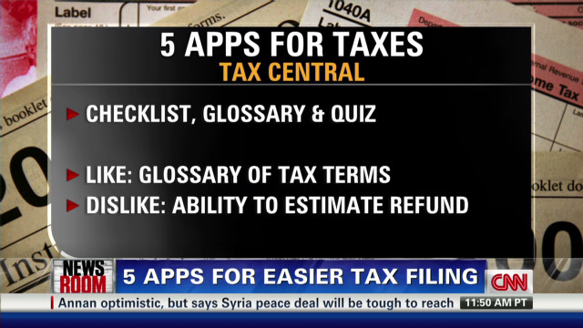 Five apps for your taxes