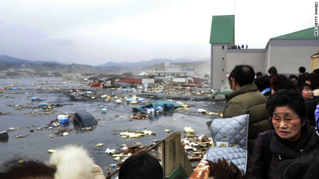 The tsunami that devastated parts of Japan in March 2011 increased the jobless rate in the United States.