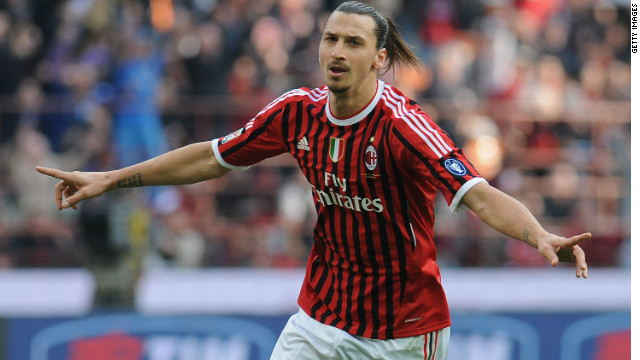 Zlatan Ibrahimovic was one of the scorers as Milan extended their Serie A lead to four points.