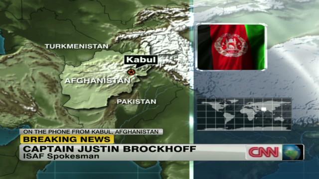 U.S. service member detained in Kandahar