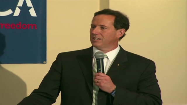 Santorum camp looks to 'KO' Gingrich