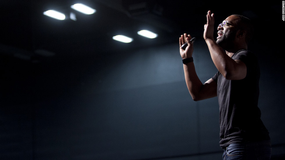 "Comedian Baratunde Thurston, author of ""How to be Black,"" delivered the keynote address during the festival."