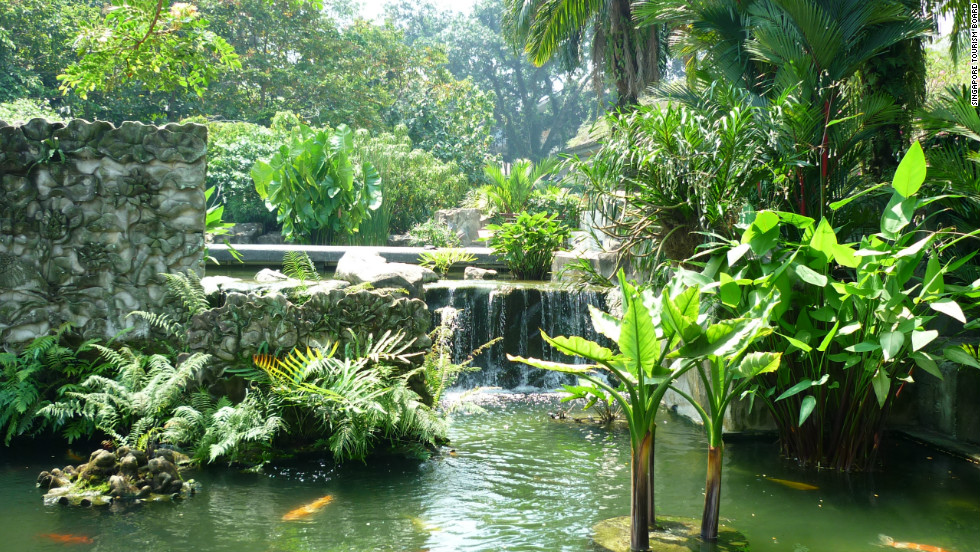 Singapore's Botanic Gardens are an oasis of calm amongst the hustle and bustle of one of Asia's largest cities says Shawn Low, editor of Lonely Planet's Asia-Pacific edition.