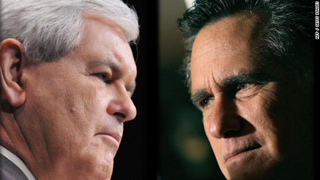 Gingrich vs. Romney over grits