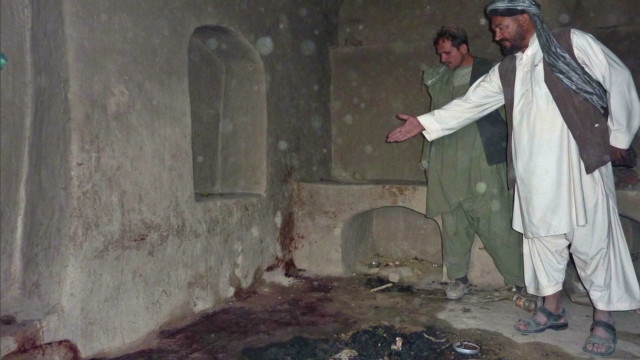 How shootings unfolded in Afghanistan