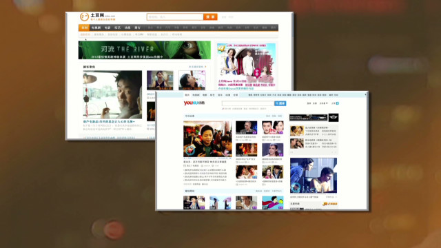 China online video titans merge