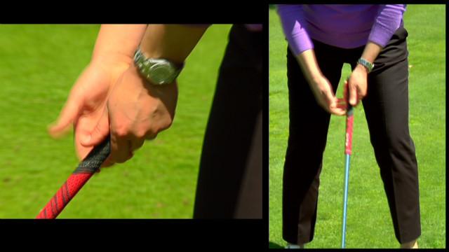 Lorena Ochoa's golf tips
