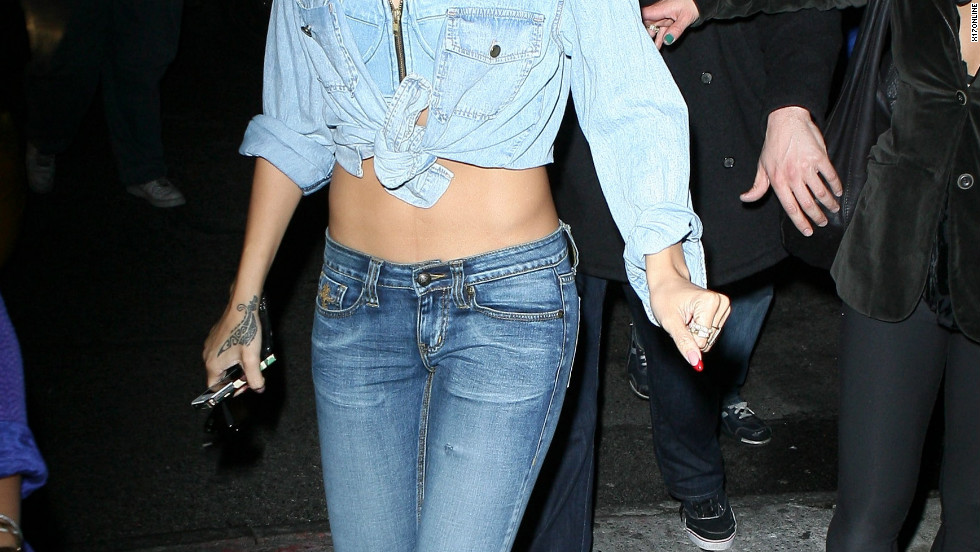 Rihanna explores the nightlife in New York City.