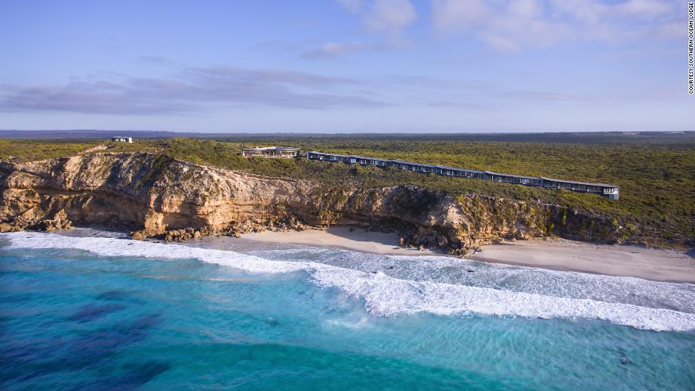Southern Ocean Lodge in Kangaroo Island, Australia