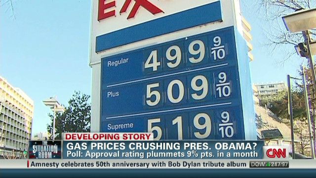 Obama battles rising gas prices