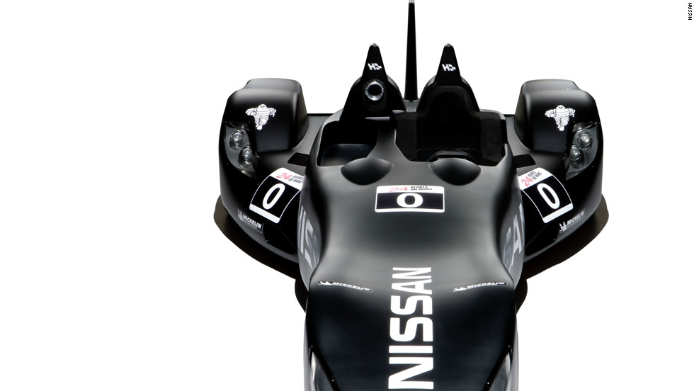"Nissan's radical DeltaWing will take part in June's Le Mans 24 Hour race. It has drawn comparisons with comic-book hero Batman's iconic ""Batmobile."""