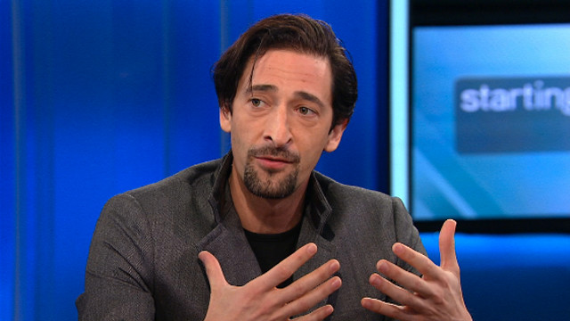 "Actor Adrien Brody explains why he wants young people to see ""Detachment""."