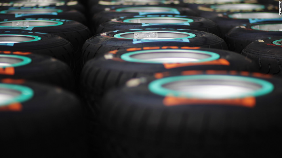 Each driver is allowed 11 sets of tires to use over the course of a race weekend, but they must last through practice, Saturday qualifying and Sunday's race. Previously teams could only use three of their sets during Friday practice, but they will now be able to use as many as they like.