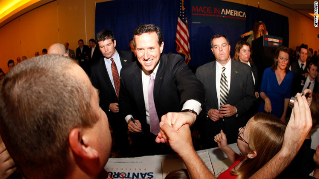 Santorum's twin Southern victories