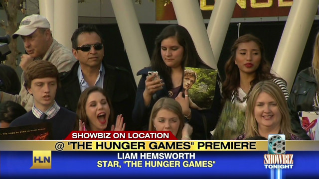 Fans hungry for 'The Hunger Games'