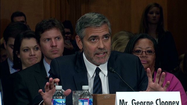 Clooney warns of Darfur-like crisis