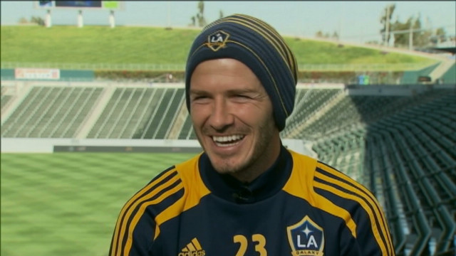 David Beckham's Olympic aspirations