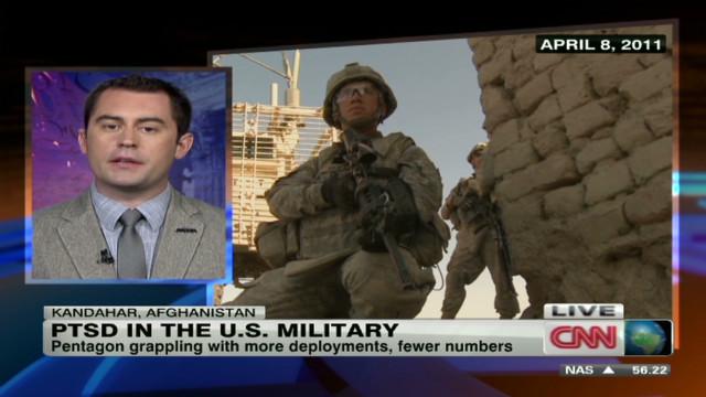 PTSD impacts the U.S. military