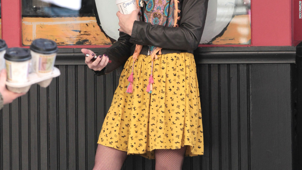 "Ashley Greene films a scene for ""Americana"" in New York City."