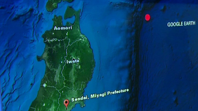 6.8 magnitude quake off Japan coast