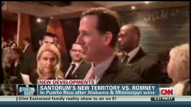 Santorum: Romney's math argument 'sad'
