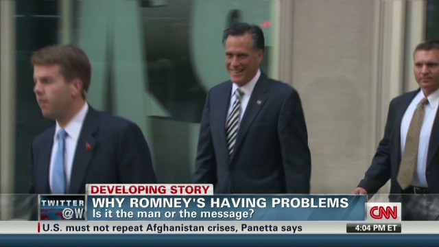 Why candidate Romney is having problems