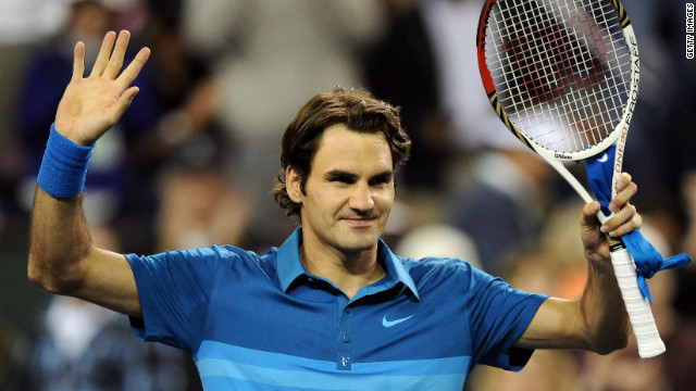 Former world No. 1 and 16-time grand slam winner Roger Federer is a three-time champion at Indian Wells.