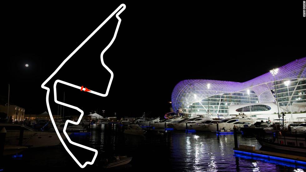 <strong>Abu Dhabi Grand Prix: </strong>November 4, Yas Marina <strong>2012 champion: </strong>Kimi Raikkonen, Lotus